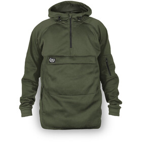 Loose Riders Fleece Anorak Men, olive